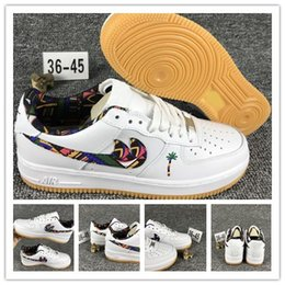Wholesale Colorful Sneakers For Women - Maldives Air 1 Sports Shoes for Men and Women High Quality Low Cut Sneakers White Colorful Logo Coconut Tree Travelling Shoes Size 36-45