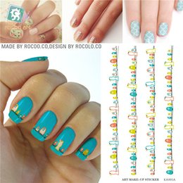 Wholesale Nail Art Bird Sticker - Wholesale-1pcs Beauty Nail Foil Decorations Tools Water Transfer Nail Art Stickers Wholesale Birds Decals Stickers Nails Flowers