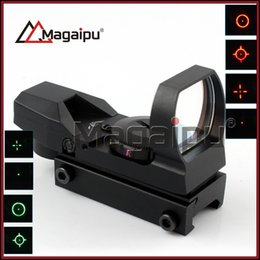 Wholesale Scope Mount Lasers - JH-400 Tactical 4-Reticle Green red Dot Laser Sight Scope with Mounts