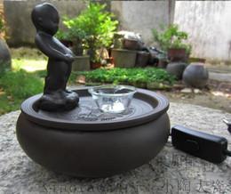 fuentes de agua interiores de cermica artesanal ngel fuente purificador de aire para la decoracin