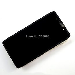 Wholesale Xt926 Lcd Screen - Wholesale-Black For Motorola DROID RAZR HD XT926 XT925 LCD Display touch screen with digitizer + Bezel frame + Tools Black Free shipping