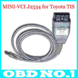 Wholesale Toyota Techstream Interface - 2015 Latest version V10.00.028 MINI VCI Interface FOR TOYOTA TIS Techstream V10.00.028 J2534 OBD2 diagnostic tool