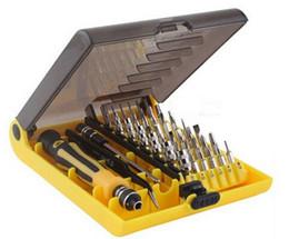 Wholesale Hand Crimping Machines - Precision 45 In 1 Electron Torx MIni Magnetic Screwdriver Tool Set hand tools Screwdrivers Kit Opening Repair Phone Tools