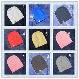 estilo de bebé recién nacido moda Rebajas Gorros para niños pequeños Productos para bebés Estilo coreano Moda Simple Básico Bebé recién nacido Sombreros suaves Color puro Niños Niños bebés Niños Invierno Cálido Lindo