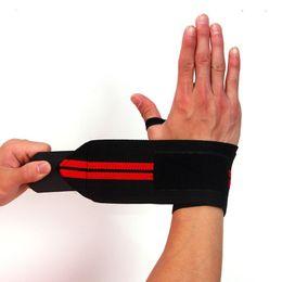 Wholesale wrist hand brace - Sport Wrist Wrap Bandage Hand Support Wristband Protector Sweatband Gym Strap Sport Brace