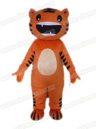 Wholesale Animal Mascot Adult Suit - AM9203 Tiger mascot costume Fur mascot suit animal mascot outfit adult fancy dress