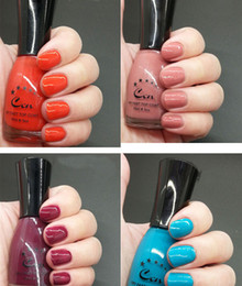 Wholesale Designer Nail Polish - Wholesale-Physical pictures designer nail lacquer UV gel polish smooth cosmetic makeup nail art high quality sweet color