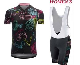 Wholesale Womens Cycle Shorts - Loves Womens Ropa Ciclismo Cycling Clothing MTB Bike Clothing  Bicycle Clothes 2017 cycling uniform Cycling Jerseys 2XS-6XL A58