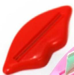 chumbo líquido Desconto 300 PCS Sexy Hot Lip Beijo Tubo Do Banheiro Dispenser Creme Dental Creme Espremedor
