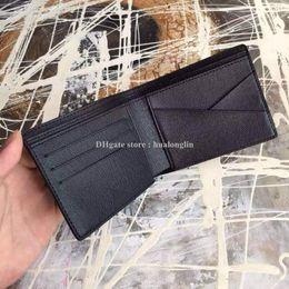 Wholesale Open Discount - M210 Men wallet man women purse card holder fashion brand designer original box high quality wholesale discount