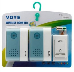 UK free shipping doorbell - Tune Melody Digital Receiver Doorbell 1 Remote Control 2 Wireless Door Bell,Free shipping
