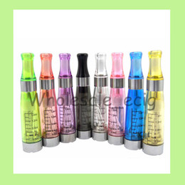 Wholesale Ce4 Vaporizer Clearomizer Factory - 2016 factory e cigarette ego ce4 atomizer 1.6ml Seven colors vaporizer VS Ce5 Ce6 Ce9 Mt3 Evod clearomizer 10pcs lot Free Shipping