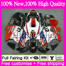 Wholesale Hayabusa Red - Body For SUZUKI Hayabusa GSXR1300 96 07 GSXR-1300 41HT110 GSX R1300 2002 2003 2004 Red white GSXR 1300 2005 2006 2007 Motorcycle Fairing