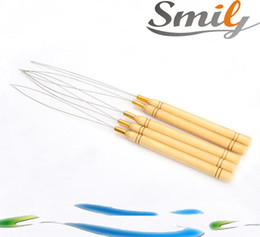 Wholesale Needles For Hair Extensions - free shipping nano rings beads links loop needle for nano rings hair extensions