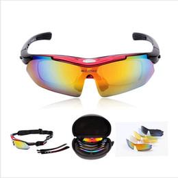 WOLFBIKE Profissional Polarizada Ciclismo Óculos de Bicicleta Ocasional Motocross Bicicleta Óculos De Sol UV 400 Com 5 Lens 5 cor de Fornecedores de óculos de sol verde seta
