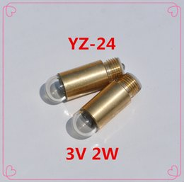 Wholesale Dc 24 2w - 3pcs YZ-24 YZ24 3v DC Ophthalmoscope bulb 3V 2W medical equipment yz-24