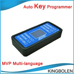 Wholesale Key Programming Machines - Super MVP Auto Key Programmer V14.2 ey cutting machine locksmith tools Auto key programming tool DHL Free shipping
