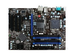 Wholesale 775 Ddr3 - P43T-C51 Original Used Desktop Motherboard P43 Socket LGA 775 DDR2 ATX On Sale