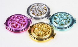 Wholesale Small Round Cosmetic Mirrors - Lovely small cosmetic mirror Carry-on beauty mirror