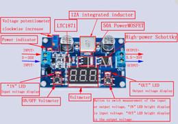 2019 módulo de aceleração Atacado-prático 3 ~ 35V para 3.5 ~ 35V 100W ajustável DC-DC Step-up Boost Conversor Voltage Module # 61105 módulo de aceleração barato
