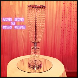 Wholesale Party Suppl - crystal wedding centerpiece wedding decorations tall 40 inches or 32inches diameter 8inches Party supplies, wedding supplies, birthday suppl