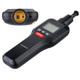 velocidades de fluxo Desconto Atacado-Digital Tacômetro A Laser Tacômetro RPM Tester Handheld Motor Elétrico Máquina de Rotação Medidor de Velocidade Ampla Faixa De Medição 2-99999RPM