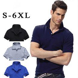 Wholesale Organic Mens Shirts - Solid Polo T-shirts Mens Designer Poloshirt Shirt Small Horse Embroidery T Shirts Lapel Short sleeved Shirts Summer Cool Men's Tees Tops 814