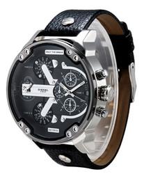 Wholesale Pin Clocks - hot Men's Watches Free shipping hot new 2016 men luxury watch brand, fashion wrist watches Japanese quartz clock dial calendar leather strap