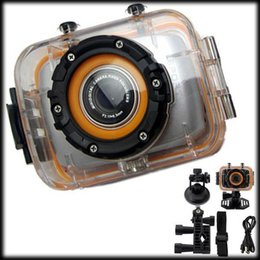 Wholesale Watch Fee - 50% shipping fee 5 pieces FHD Action Camera Waterproof Sports DV 120 Wide Angle Outdoor Camcorder 2.0'' Touch Panel DVR19H-H30