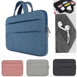Wholesale Case For Notebook 17 - Men Women Portable Notebook Handbag Air Pro 11 12 13 14 15.6 Laptop Bag Sleeve Case For Dell HP Macbook Xiaomi Surface pro 3 4