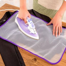 Wholesale Clothes Ironing Press - Protective Press Mesh Ironing Cloth Guard Protect Delicate Garment Clothes