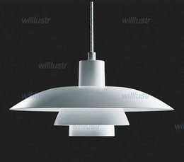 Wholesale Ph Modern Lamp - Louis Poulsen PH 4 3 pendant lamp metal material Louis Poulsen PH 4 3 Pendelleuchte Poul Henningsen modern design chandelier