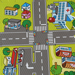 Wholesale Foam Puzzle Mats - Baby EVA Foam Puzzle Play Floor Mat,Education and Interlocking Tiles  Traffic Route Ground Pad City and Building Rug playmat 2109075
