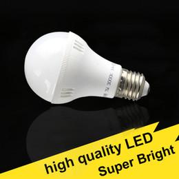 Wholesale Very Bright Light Bulbs - Free Shipping high quality very Bright 110V 220V LED light bulbs E27 B22 cool white warm white globe lamp home lightings spotlight downlight