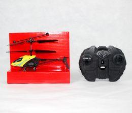 Sin escobillas rc helicopteros online-Al por mayor-2 canales eléctricos Mirco Helicópteros sin escobillas Mini RC helicóptero de radio de control remoto de aviones Helicoptero
