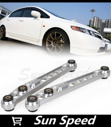 Wholesale Lower Control Arm Silver - 1 Pair Silver Color REAR LOWER CONTROL ARMS FOR 96-00 CIVIC EK