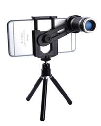 Wholesale Iphone Telescope Camera Lens - Universal 8X Zoom Telescope Camera Telephoto Lenses for iPhone 4 4S 5 5C 5S 6 Plus Samsung Galaxy S3 S5 Note 4