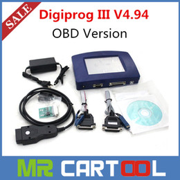 Wholesale Chevrolet Odometer Correction - 2015 New Arrival Digiprog 3 Digiprog III odometer correction to Newly V4.94 OBD Version Digiprog3 Mileage Correction DHL Free shipping
