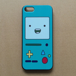 Wholesale Beemo Case - Wholesale-For iPhone 4 4s Case Adventure Time Lumpy Jake Beemo BMO Finn Hard Plastic Protective Case Cover