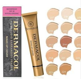 Wholesale Control Tattoo - 1PCScovered Filmstudio Barrandov Prague concealer makeup to cover up a tattoo waterproof the 50th anniversary of the limited edition 13colo