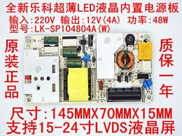NUEVO LEKE LK-SP104804A Tarjeta de alimentación 12V 4A 48W para 15-24
