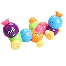 Wholesale Doll Wind Up Toy - EA14 Cute Wind up Carpenterworm Cutworm Clockwork Spring Bug Children Toy