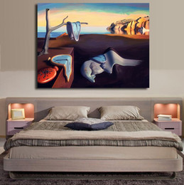 Wholesale Digital Photo Wall - Salvador Dali Surrealism Abstract Oil Painting Canvas Art Wall Posters Photos Art Prints For Living Room Home Decoration