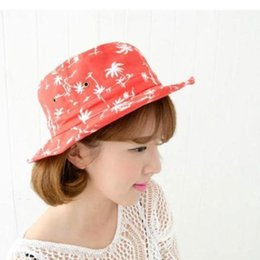 Wholesale Wide Brim Blanks - Wholesale-2015 Hot Fashion Camping Hiking Hunting Fishing Outdoor Bob Cotton Plain Blank Bucket Hat Cap Hip Hop for Men Women