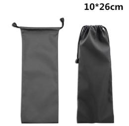Wholesale Cloth Pouch Mobile - 100Pcs lot!10*26cm Waterproof Cloth Bag Pouch Fit for Mobile Phone ,Power Bank ,Sunglasses ,Selfie Stick ,Earphone etc.