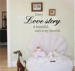 Wholesale Removable Wallpaper Prices - Quoted price English 3D Wall Stickers Home Decoration Black Removable vinyl Wallpaper Applique Free shipping papel de parede