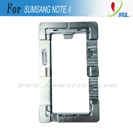 Wholesale Screen Separator Mold - Precision Aluminium Metal Mould Mold For Samsung Galaxy Note 3 Note 4 LCD Touch Glass Separator Panel Renew Holder 2pcs Free Shipping