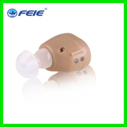 Wholesale Invisible Hearing Aids - Invisible Mini Hearing Aid Headphones Ear Deaf Equipment S-213 Drop Shipping