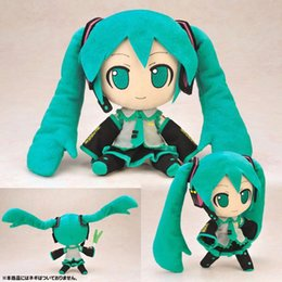 Wholesale Hatsune Doll - 12inches Hatsune Miku anime plush doll free shipping