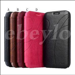 Wholesale Galaxy S3 Cases Kickstand - For Galaxy S3 S4 Oscar II Series Flip Ultrathin Leather Phone Case Cover with Credit Card Slot for Samsung Note 2 N7100 i9300
